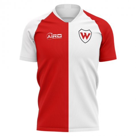 2020-2021 Woking Home Concept Football Shirt - Kids