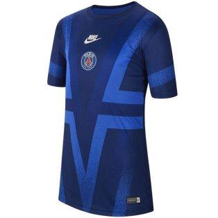 2019-2020 PSG Nike Pre-Match Training Shirt (Blue) - Kids