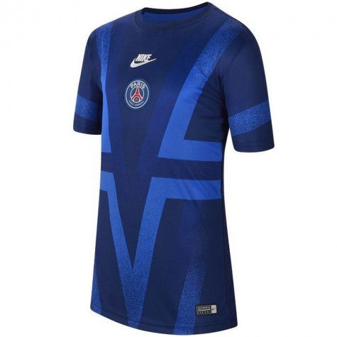 2019-2020 PSG Nike Pre-Match Training Shirt (Blue) - Kids