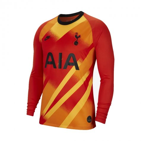 2019-2020 Tottenham Euro Home Nike Goalkeeper Shirt (Orange)