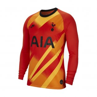 2019-2020 Tottenham Euro Home Nike Goalkeeper Shirt (Orange) - Kids