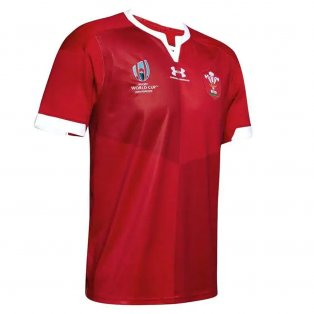 Wales Rugby RWC 2019 Home Shirt (Kids)
