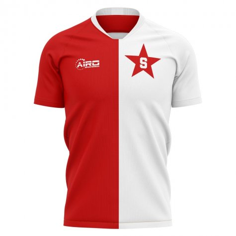2019-2020 Slavia Prague Home Concept Football Shirt - Baby