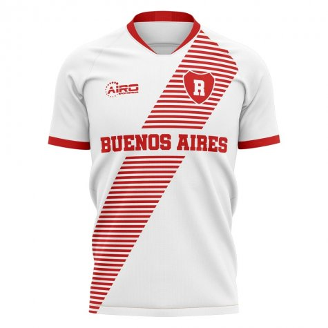 2020-2021 River Plate Home Concept Football Shirt - Little Boys