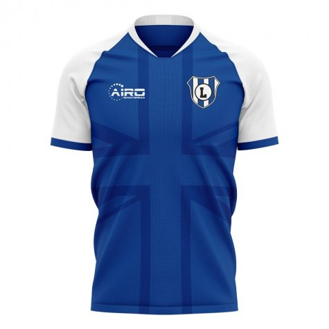 2020-2021 Linfield Home Concept Football Shirt - Womens