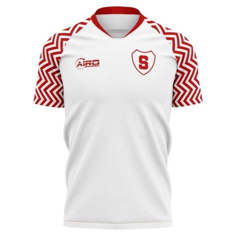 2019-2020 Fk Suduva Home Concept Football Shirt - Womens