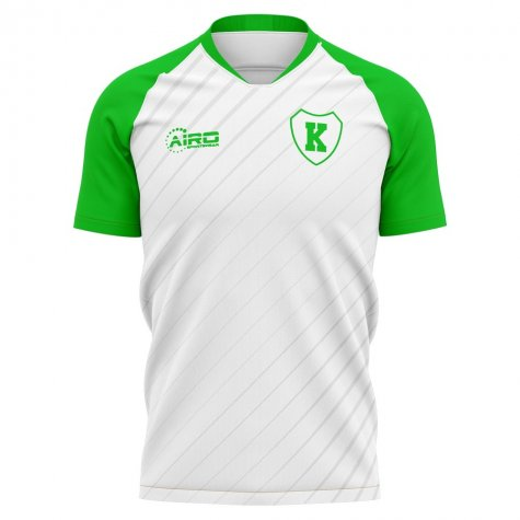 2020-2021 Kaparty Lviv Home Concept Football Shirt - Womens