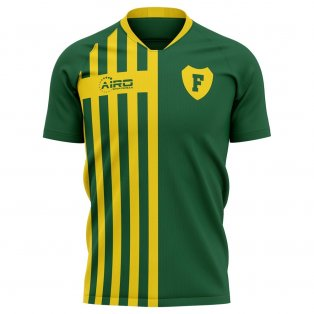 2020-2021 Fortuna Sittard Home Concept Football Shirt