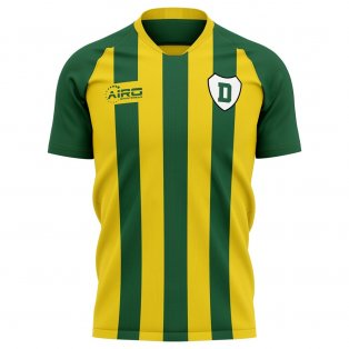 2020-2021 Ado Den Haag Home Concept Football Shirt