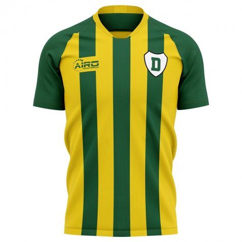 2019-2020 Ado Den Haag Home Concept Football Shirt - Kids