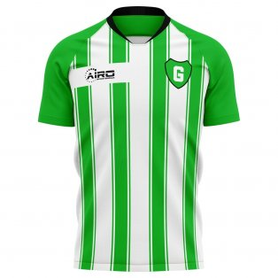 2020-2021 Fc Gronigen Home Concept Football Shirt - Womens