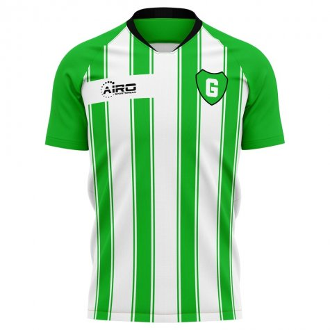 2020-2021 Fc Gronigen Home Concept Football Shirt - Womens