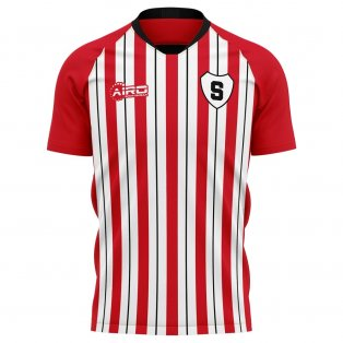 2020-2021 Sparta Rotterdam Home Concept Football Shirt