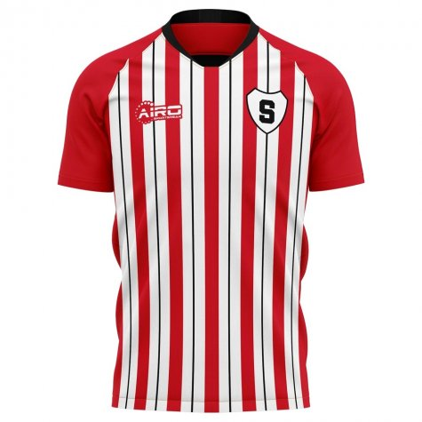 2020-2021 Sparta Rotterdam Home Concept Football Shirt - Kids