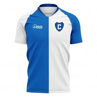 2020-2021 Colraine Home Concept Football Shirt