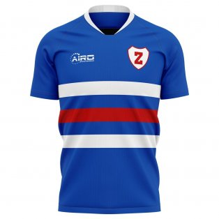 2020-2021 Zwolle Home Concept Football Shirt
