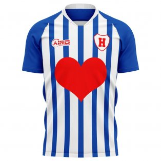 2020-2021 Heerenveen Home Concept Football Shirt