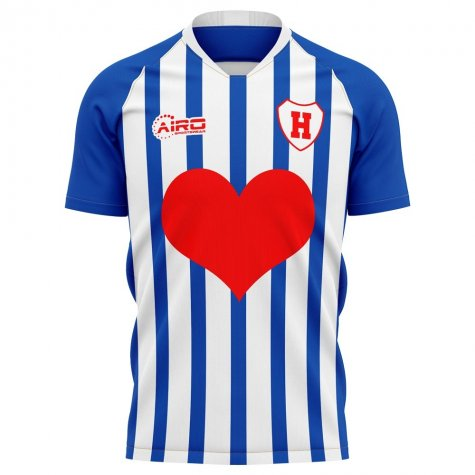 2019-2020 Heerenveen Home Concept Football Shirt - Kids