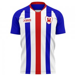 2020-2021 Williem II Home Concept Football Shirt