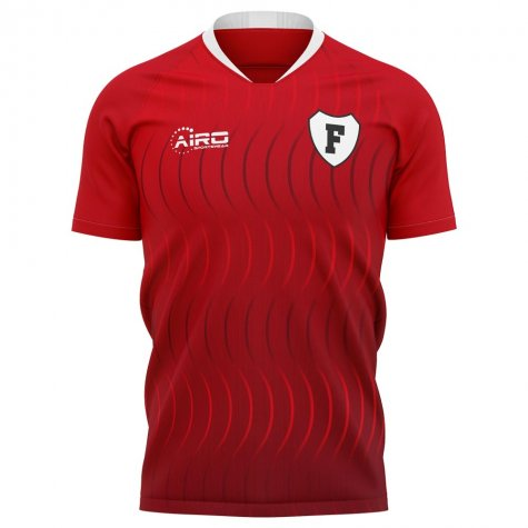2020-2021 Fleetwood Town Home Concept Football Shirt