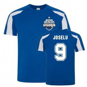 Joselu Alaves Sports Training Jersey (Blue)
