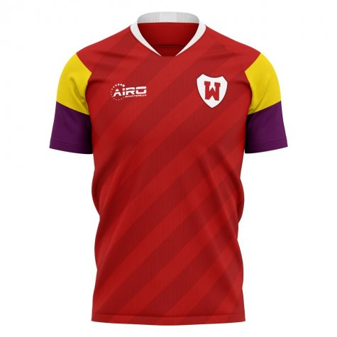2020-2021 Wrexham Home Concept Football Shirt