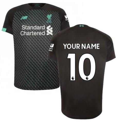 2019-2020 Liverpool Third Football Shirt (Kids) (Your Name)