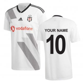 2019-2020 Besiktas Adidas Home Football Shirt (Your Name)