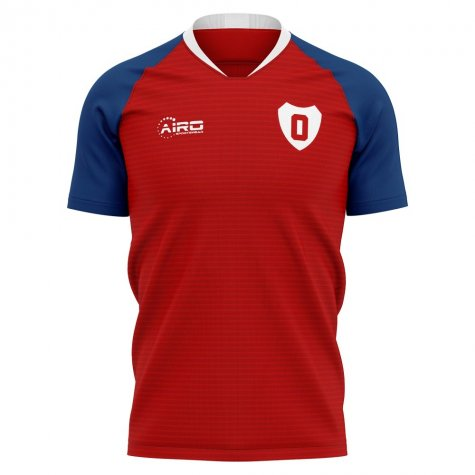 2020-2021 Osasuna Home Concept Football Shirt - Kids