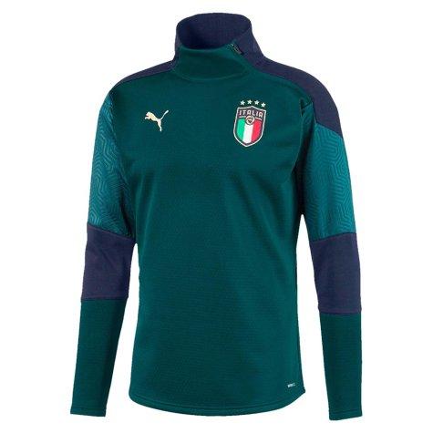 2019-2020 Italy Puma Training Fleece (Pine)
