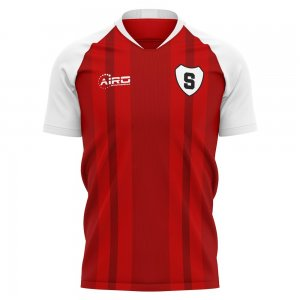 2020-2021 Stirling Albion Home Concept Football Shirt - Kids