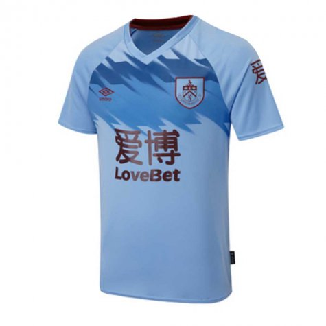 2019-2020 Burnley Umbro Away Football Shirt