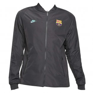 2019-2020 Barcelona Nike Reversible Jacket (Grey)