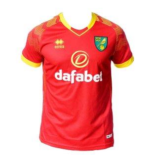 2019-2020 Norwich City Errea Away Football Shirt