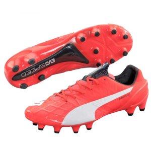 Puma evoSPEED 1.4 Firm Ground Football Boots (Lava Blast)