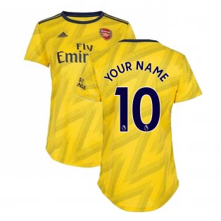 2019-2020 Arsenal Adidas Womens Away Shirt (Your Name)