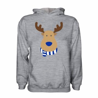 Rangers Rudolph Supporters Hoody (grey) - Kids