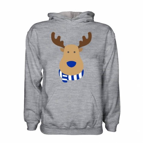 Macclesfield Rudolph Supporters Hoody (grey)