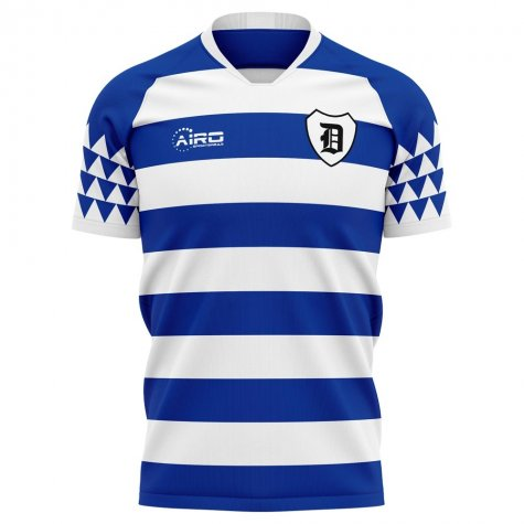 2020-2021 Msv Duisburg Home Concept Football Shirt