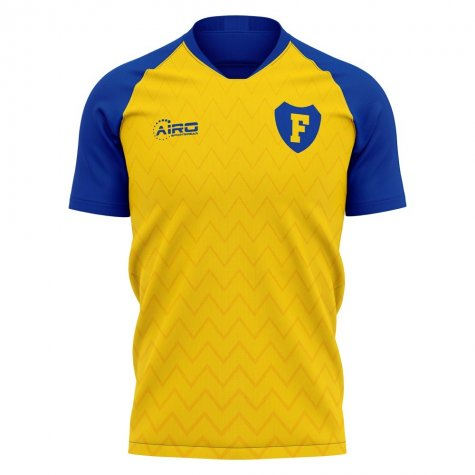 2020-2021 Frosinone Home Concept Football Shirt