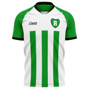 2020-2021 Raja Casablanca Home Concept Football Shirt - Kids