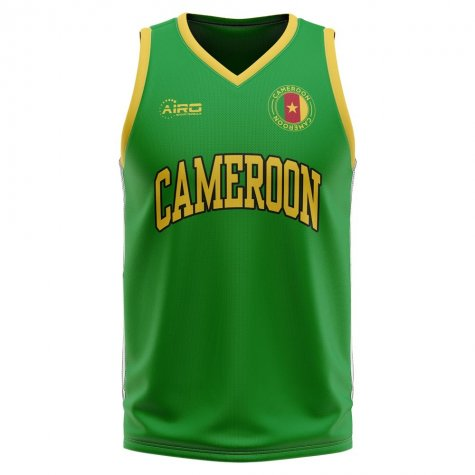 Cameroon Home Concept Basketball Shirt