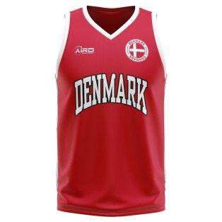 Denmark Home Concept Basketball Shirt