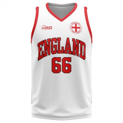 England Home Concept Basketball Shirt - Baby