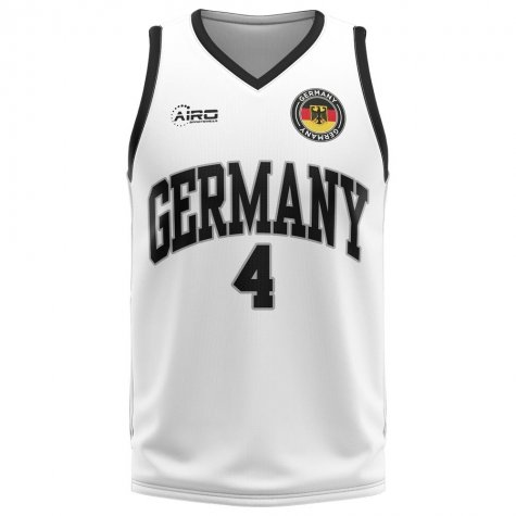 Germany Home Concept Basketball Shirt - Little Boys