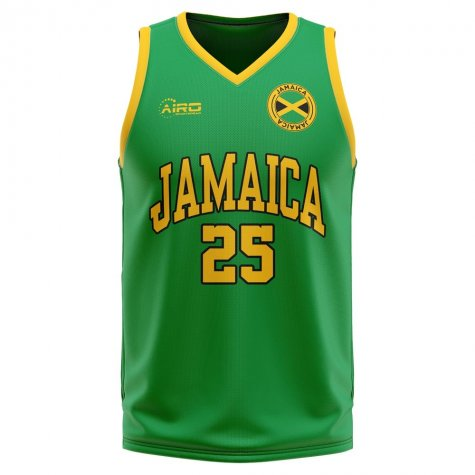 Jamaica Home Concept Basketball Shirt - Kids