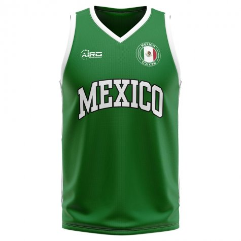 Mexico Home Concept Basketball Shirt - Little Boys
