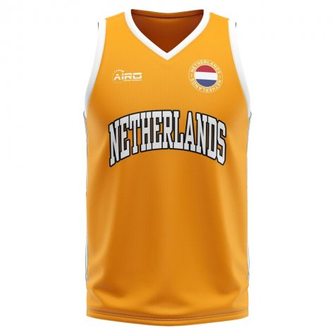 Netherlands Home Concept Basketball Shirt - Baby