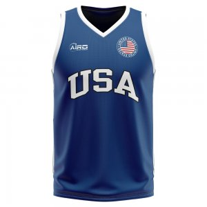 Usa Home Concept Basketball Shirt - Little Boys