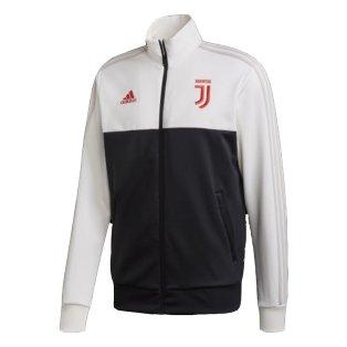 2019-2020 Juventus Adidas 3S Track Top (White)